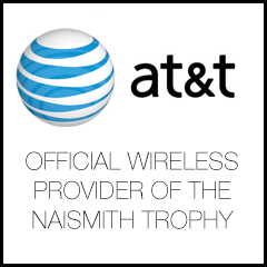 AT&T Official Wireless Provider of the Naismith Trophy